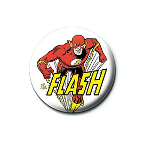 DC Comics Flash Character Button Badge